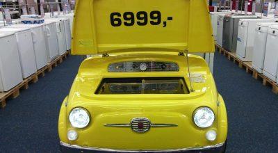 Fiat 500 Buzdolabı SMEG 500