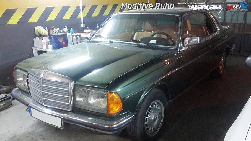 Mercedes-W123-280CE-Restorasyonu