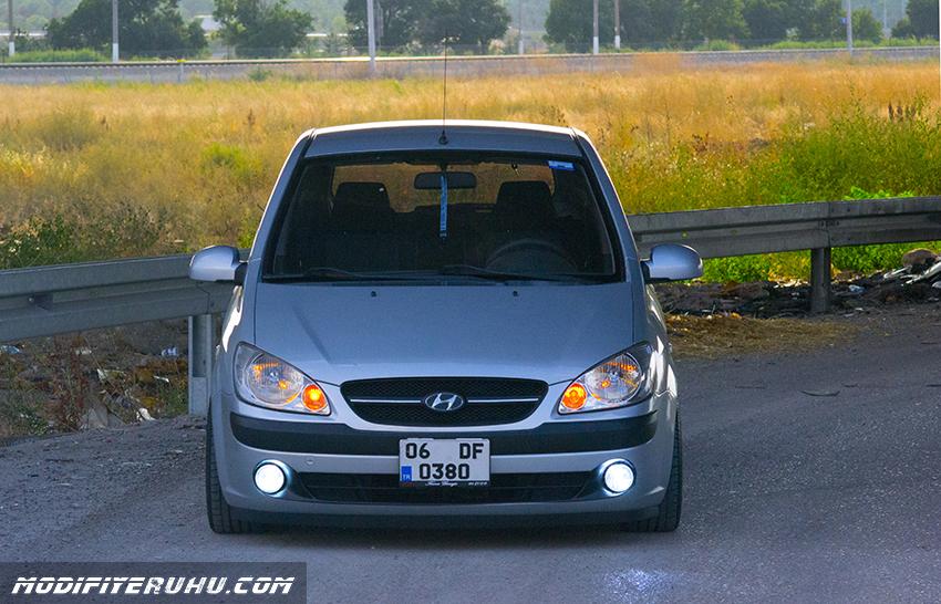 Modifiye Hyundai Getz Modifiye Araba Projeleri